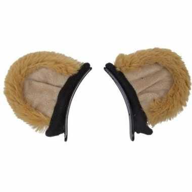 Leeuwen dieren verkleedset oren kinderen carnavalskleding den bosch