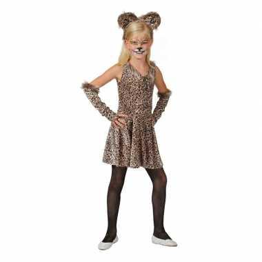 Luipaard jurkje accessoires meisjes carnavalskleding den bosch