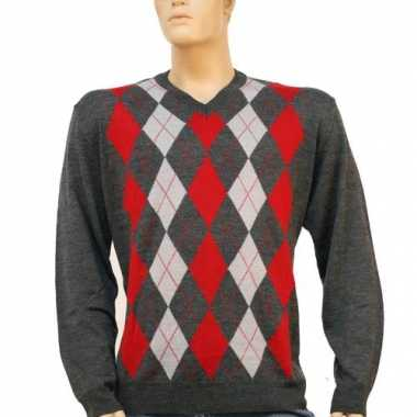 Carnavalskleding luxe heren pullover