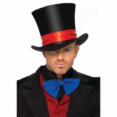 Carnavalskleding luxe hoge hoed volwassenen