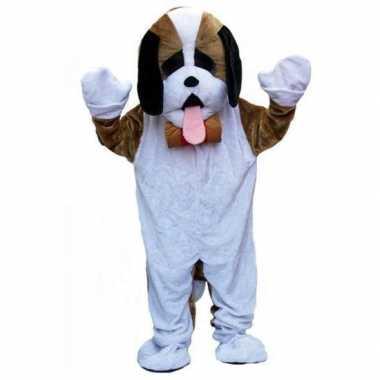 Carnavalskleding luxe pluche hond carnavalskleding