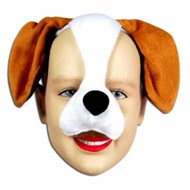Carnavalskleding masker een hond