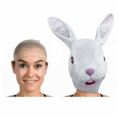 Maskers zijn plaats houd netje carnavalskleding Den Bosch