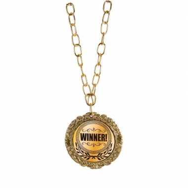 Medaille winnaar goud carnavalskleding den bosch