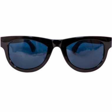 Carnavalskleding mega blues brothers bril zwart