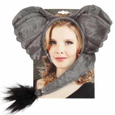 Carnavalskleding olifant setje volwassenen