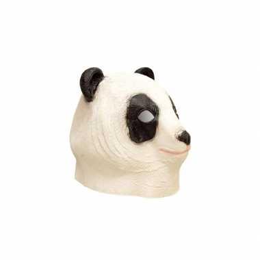Panda dierenkop masker carnavalskleding den bosch