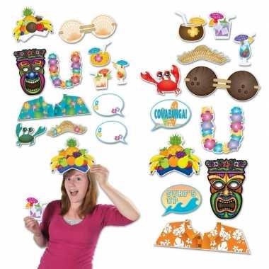 Photo booth prop accessoires strand thema tropisch carnavalskleding d