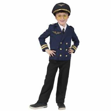 Piloot verkleed jasje kinderen carnavalskleding den bosch