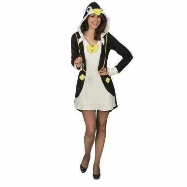 Pinguin jurk dames carnavalskleding den bosch