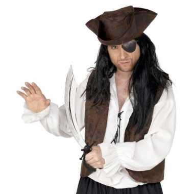 Piraten verkleed accessoires ooglap zwaard carnavalskleding den bosch