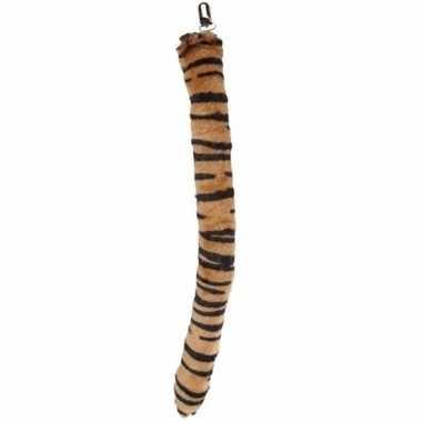Pluche tijger staart carnavalskleding den bosch