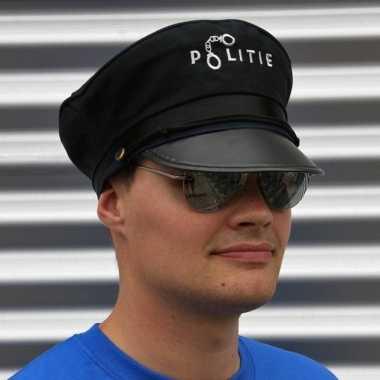 Politie verkleed accessoires petje bril carnavalskleding den bosch