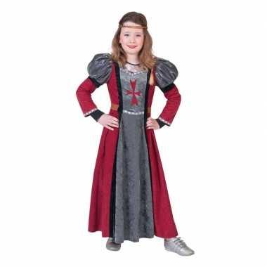 Ridder verkleed jurk meisjes carnavalskleding den bosch