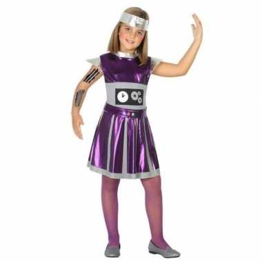 Robot verkleedset meisjes carnavalskleding den bosch