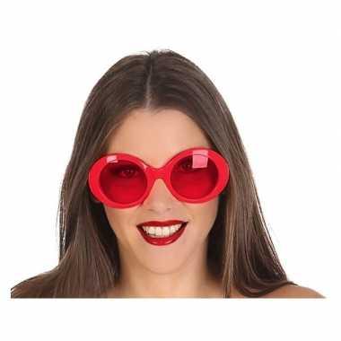 Rode dames verkleedbril carnavalskleding den bosch
