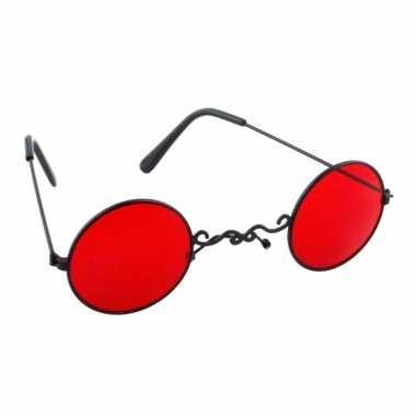 Rode dracula feestbril volwassenen carnavalskleding den bosch