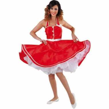 Rode jaren jurk dames carnavalskleding den bosch