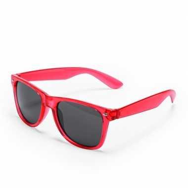 Rode verkleed zonnebril carnavalskleding den bosch