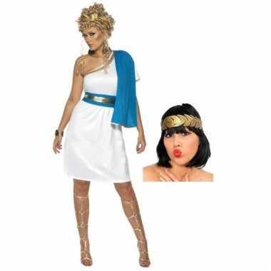 Romeinse jurk accessoires dames maat m carnavalskleding den bosch