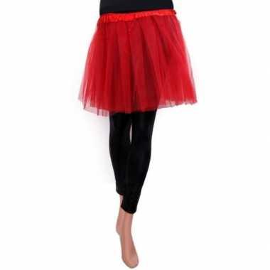 Rood meisjes verkleed rokje carnavalskleding den bosch