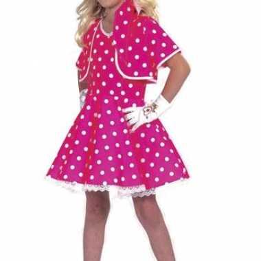 Roze fifties jurkjes meisjes carnavalskleding den bosch