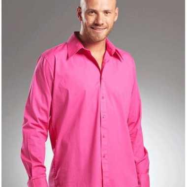 Heren Overhemd Roze.Roze Heren Overhemd Colors Carnavalskleding Den Bosch