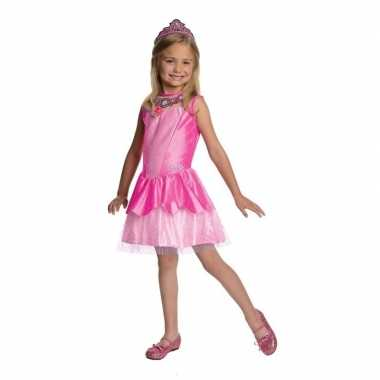 Roze prinsessen jurkje tiara carnavalskleding den bosch