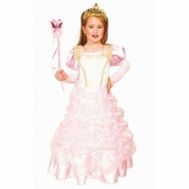 Roze prinsessenjurkje deluxe carnavalskleding den bosch