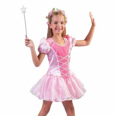 Roze prinsessenjurkje meisjes carnavalskleding den bosch