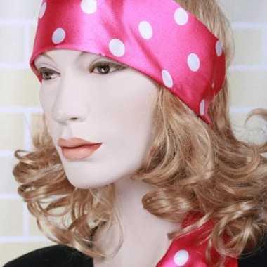 Roze taille riem dames carnavalskleding Den Bosch