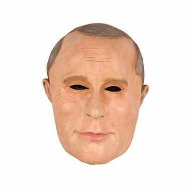 Russische president poetin masker latex carnavalskleding bosch