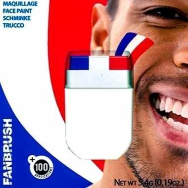 Schmink stift hollandse vlag carnavalskleding den bosch