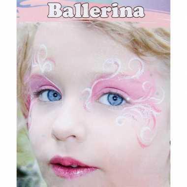 Schminksetje ballerina kinderen carnavalskleding den bosch