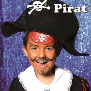 Schminksetje piraat kinderen carnavalskleding den bosch