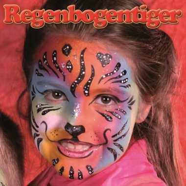 Schminksetje regenboog tijger kinderen carnavalskleding den bosch