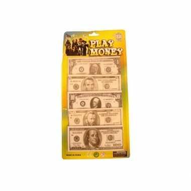 Speelgeld dollar briefjes stuks carnavalskleding den bosch