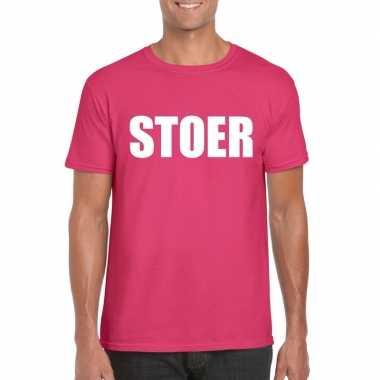 Stoer fun t shirt roze heren carnavalskleding den bosch