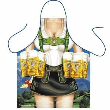 Tiroler thema schort sexy dame carnavalskleding Den Bosch