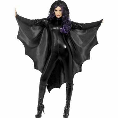 Vampiervleugels zwart dames carnavalskleding den bosch