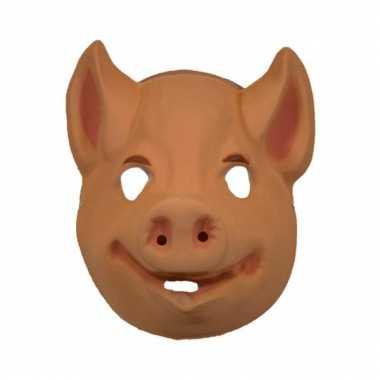Varkens masker volwassenen carnavalskleding Den Bosch