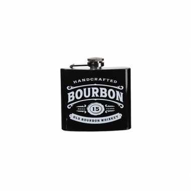 Vintage heupflacon bourbon ml carnavalskleding den bosch