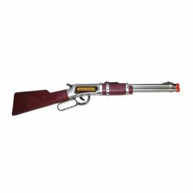 Carnavalskleding western geweer bruin