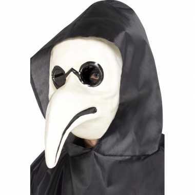Wit venetiaans masker volwassenen carnavalskleding den bosch