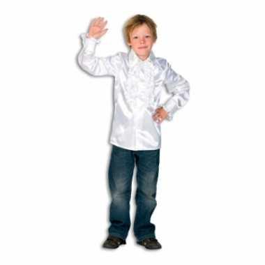 Witte hippie blouse jongens carnavalskleding Den Bosch