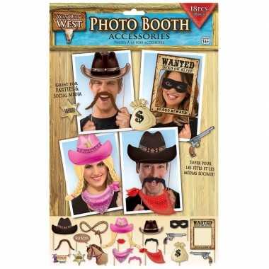 X fotoprops cowboy feestje carnavalskleding den bosch