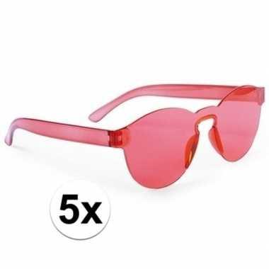 X rode feestbril volwassenen carnavalskleding den bosch