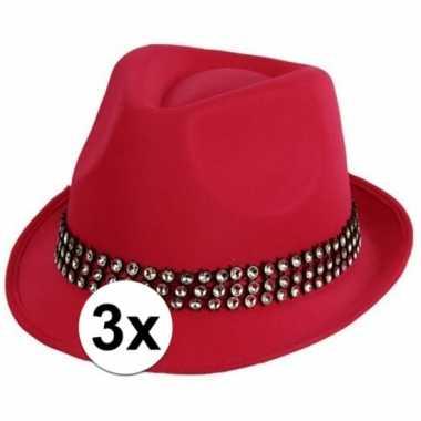 X roze hoedjes zilveren steentjes toppers carnavalskleding den bosch
