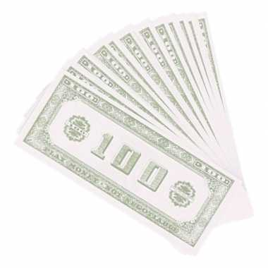 X speelgoed namaak dollar biljetten carnavalskleding den bosch