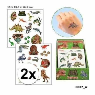 X tatoeages dinosauriers jongens vellen carnavalskleding den bosch